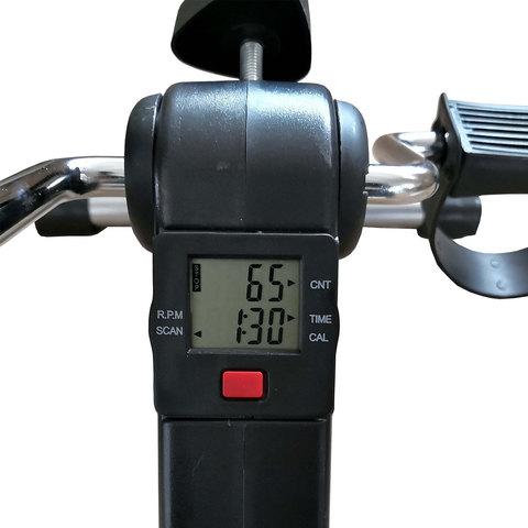 Велотренажер мини DFC B8207В черный с серым