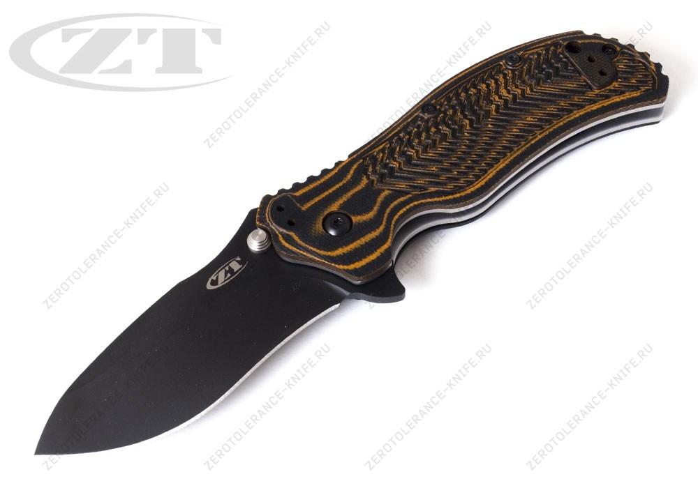 Нож Zero Tolerance 0350MOC Moccasin Onion