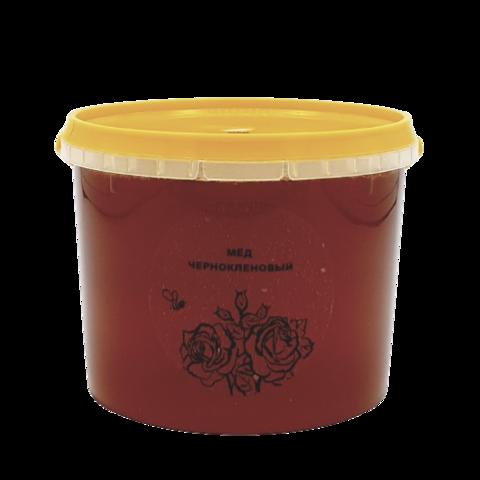 Мёд натуральный ЧЕРНОКЛЕНОВЫЙ, 1 кг