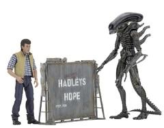 Чужие фигурка Берк и Чужой Воин — Aliens Hadleys Hope