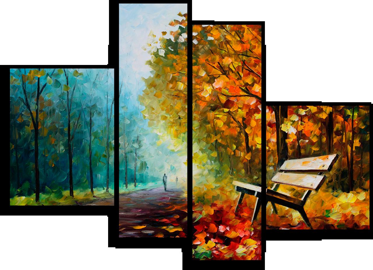"Природа Модульная картина ""Осенний парк"" М691.png"