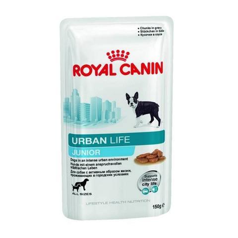 Royal Canin ROYAL CANIN Консервы для щенков до 10/15 месяцев Urban Life Junior Wet