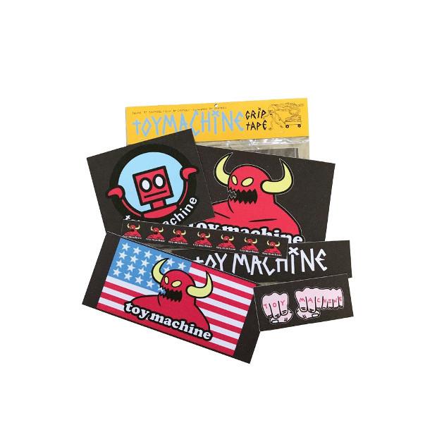 Шкурка для скейта TOY MACHINE Grip Sticker Pack