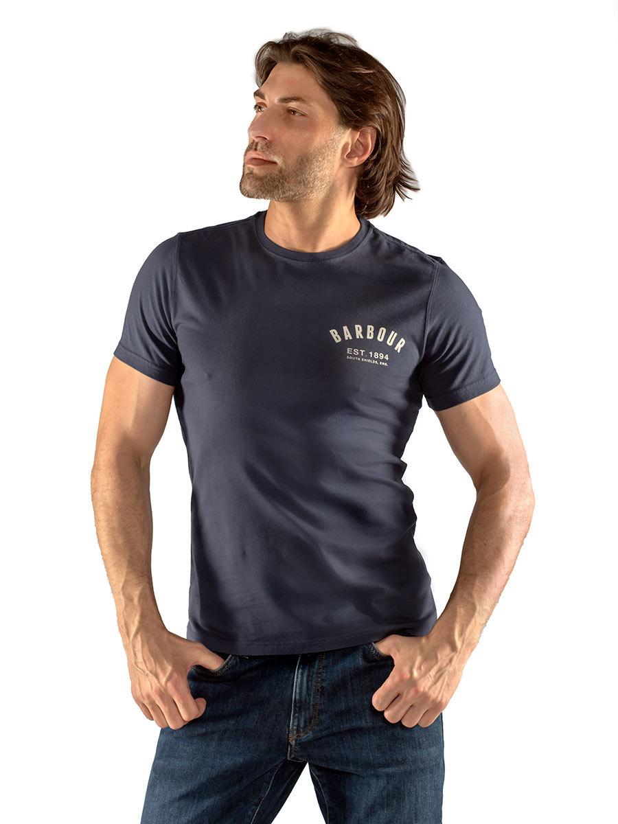 Barbour футболка Preppy Tee MTS0502/NY31