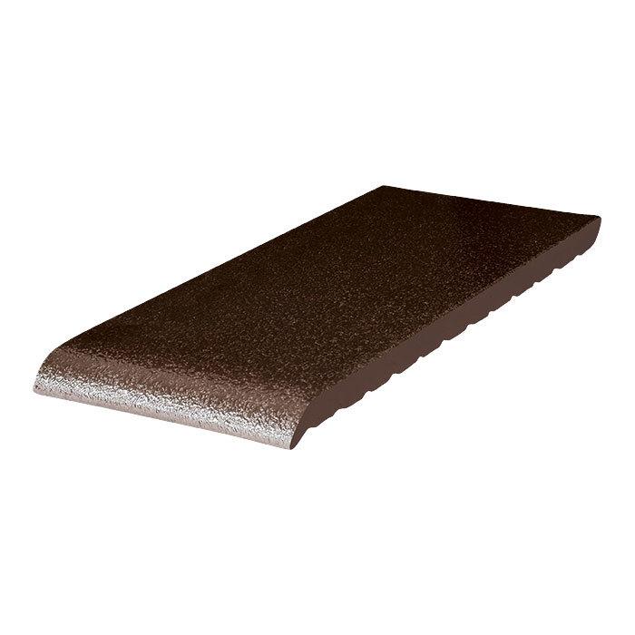 King Klinker, Коричневый глазурованный, 02 Brown-glazed, 245x120x15 - Клинкерный подоконник