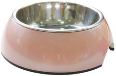 Миска на меламиновой подставке 160 мл розовый перламутр, SuperDesign