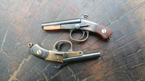 Miniature Remington shotgun