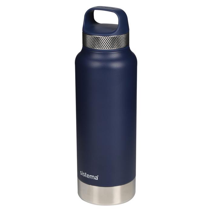 "Термобутылка Sistema ""Hydrate"" 1 л, цвет Синий"