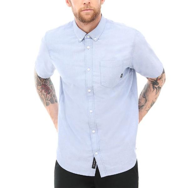 Рубашка VANS MN GIBBON SS dress blues