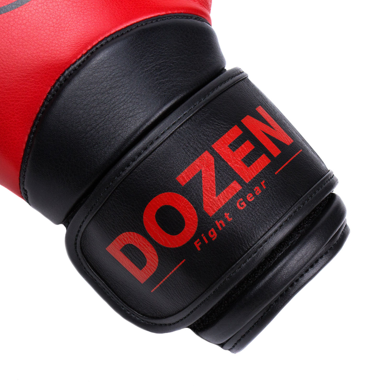 Перчатки Dozen Dual Impact Red/Black манжет
