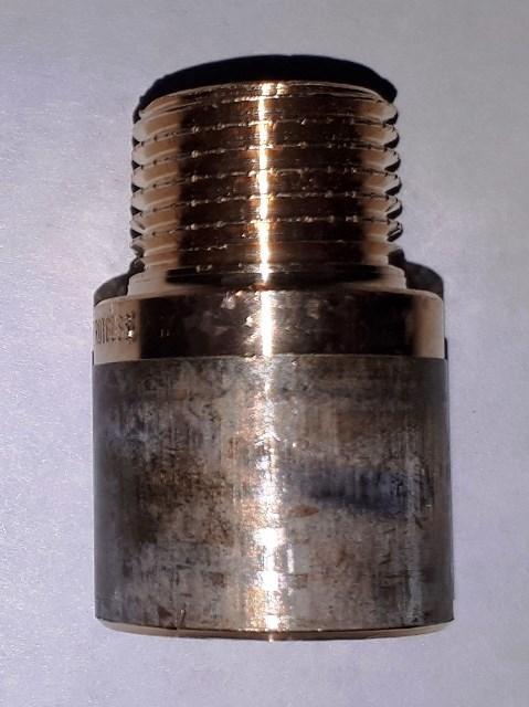 Удлинитель 1/2 25 мм бронза Viega