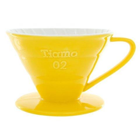 Воронка (пуровер) керамическая Tiamo V02