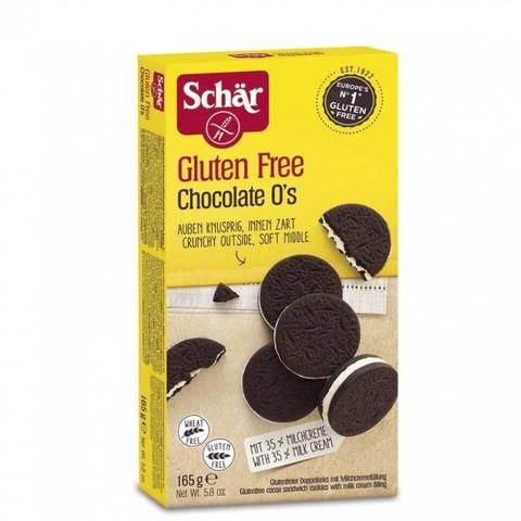 Печенье (Chocolate Os) 165г б/глютен Schar