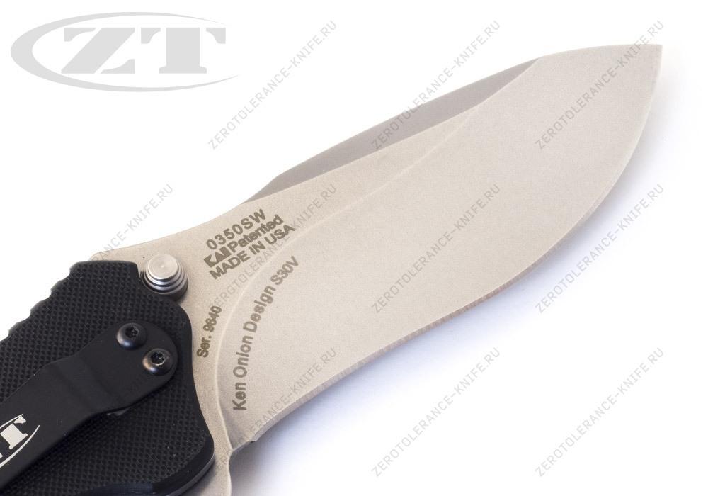 Нож Zero Tolerance 0350SW Onion - фотография