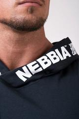 Мужская майка c капюшоном Nebbia Hooded Singlet 173 black