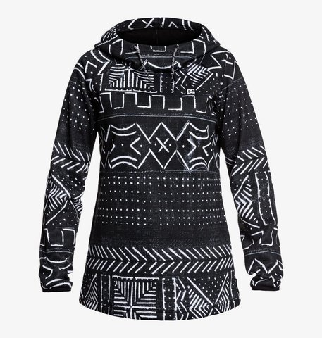 Худи DC SALEM J OTLR KVJ6 BLACK MUD CLOTH PRINT