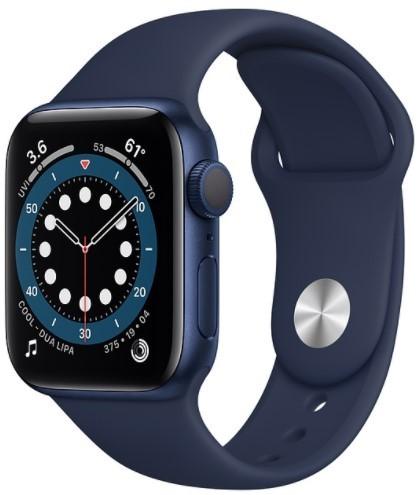 Apple Watch Series 6 Часы Apple Watch Series 6 GPS 40mm Aluminum Case with Sport Band (Синий/Темный ультрамарин) gis4tiid7i1.jpg