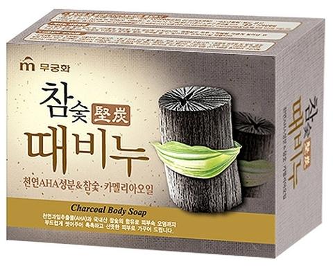 Глубокоочищающее мыло для лица и тела с древесным углём
