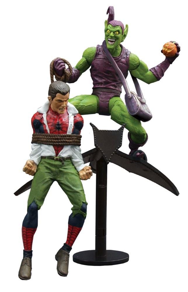Марвел Селект фигурка Зеленый Гоблин — Marvel Select Classic Green Goblin