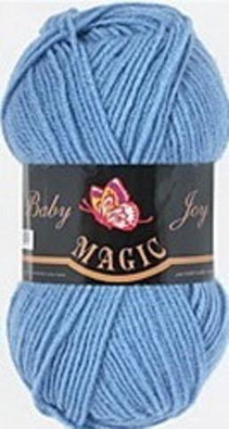 Пряжа Baby Joy (Magic) 5709 Джинсовый