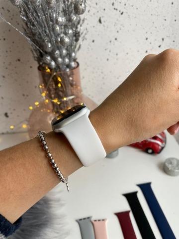 Ремешок Apple Watch 38/40 mm Solo Loop /white/