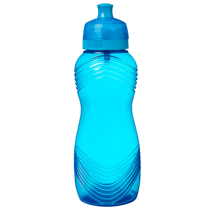 """Бутылка для воды Sistema """"Hydrate"""" 600 мл, цвет Голубой"""