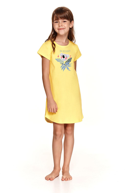 Детская желтая сорочка Matylda