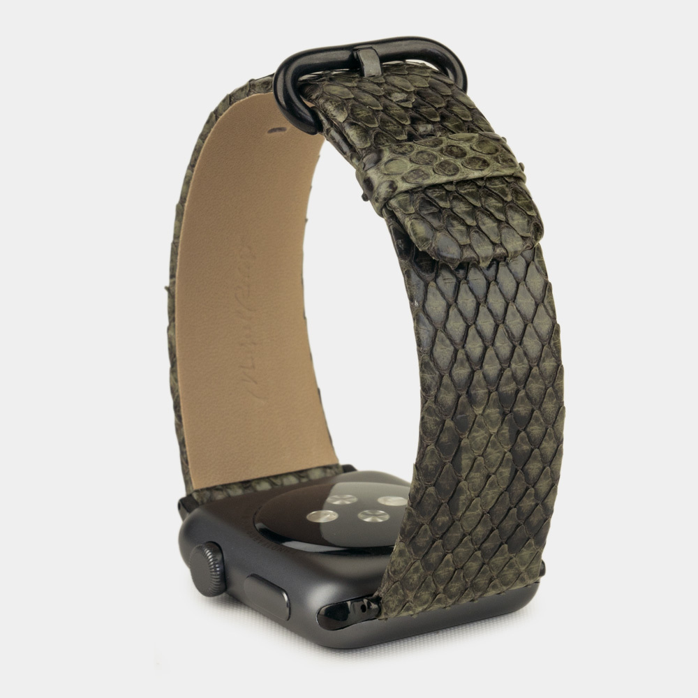 Band for AW 42/44mm — python green