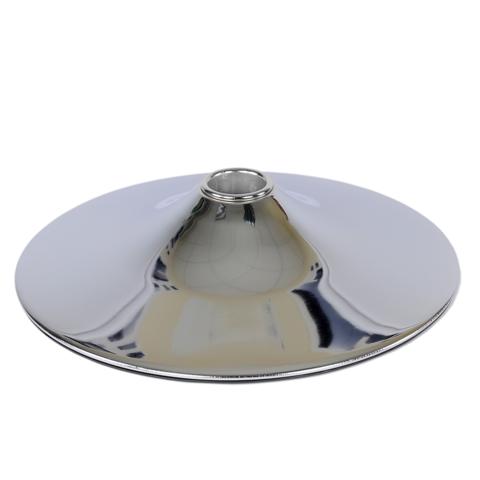 База D-415 мм, Хром, круглое основание барного стула, диск