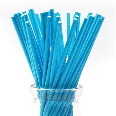Палочки для кейкпопсов Голубые 15 см/100 шт Китай