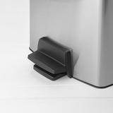 Мусорный бак Brabantia прямоугольный (10л) матовый с защитой от отпечатков, артикул 461804, производитель - Brabantia, фото 7