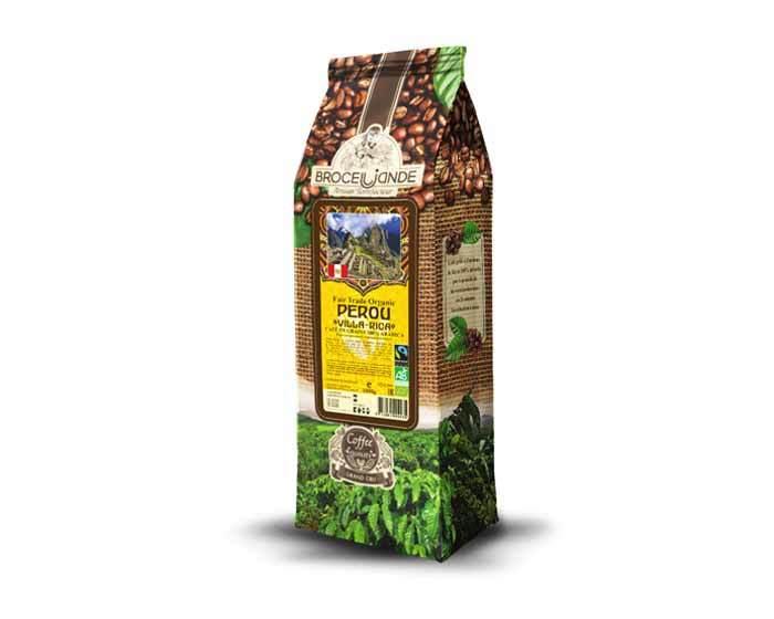 Кофе в зернах Broceliande Perou