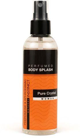 Женский спрей для тела с феромонами Pure Crystal - 100 мл.