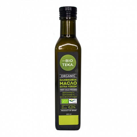 Bioteka, Органическое оливковое масло Extra Virgin, 250мл