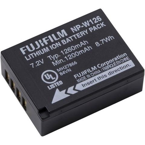 Аккумулятор Fujifilm NP-W126S для Fujifilm HS30EXR X-Pro1 X-E1 X-M1 X-A1