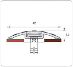 Порог Идеал с монтажным каналом (1.8м)