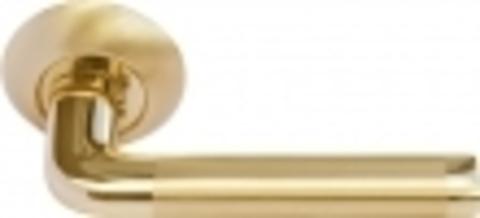 Ручка дверная MH-03 SG/GP
