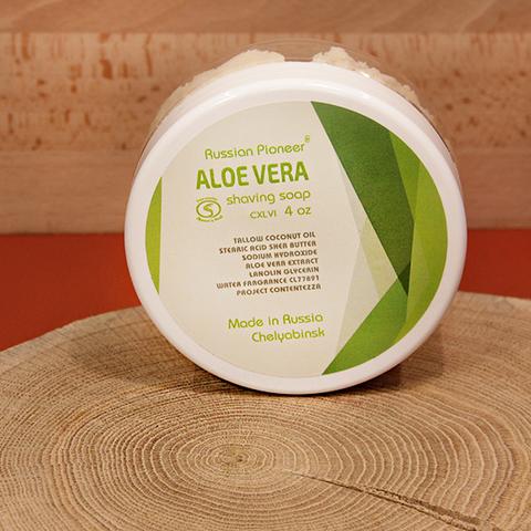 Мыло для бритья Aloe Vera