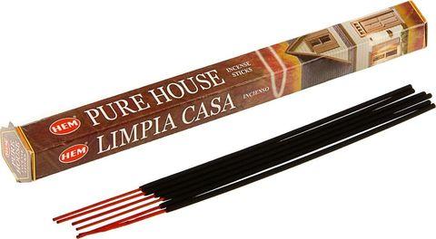 Индийские палочки HEM Pure House