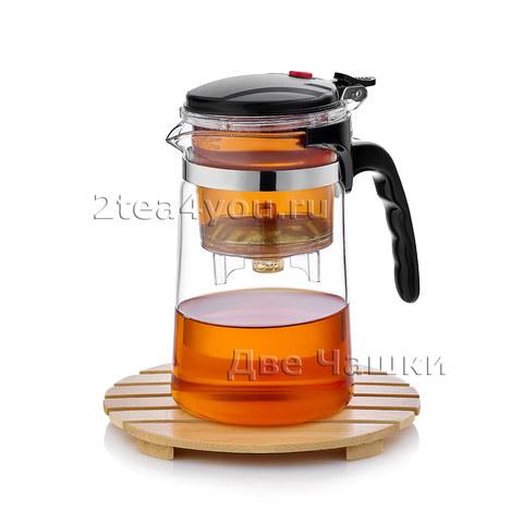 Набор S-29. Типод (чайник заварочный Гунфу) Sama 500 мл, Пиалы 150мл (4 шт.)