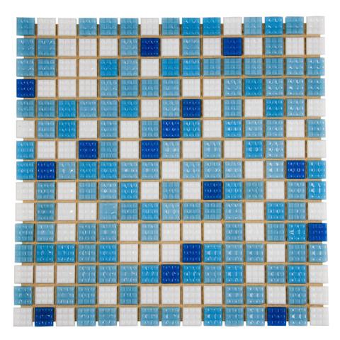 Мозаика стеклянная Aquaviva Bahama светлая B2311N / 6837