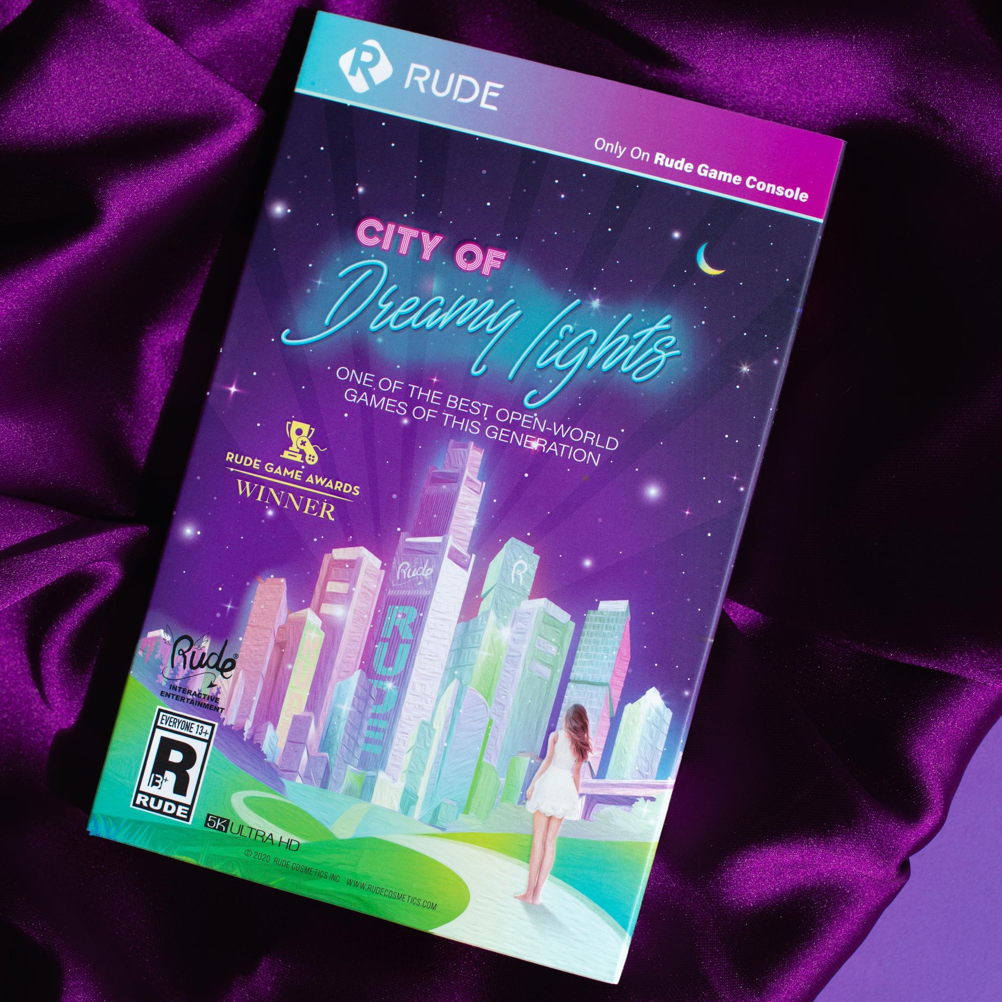Палетка теней City of Dreamy Lights