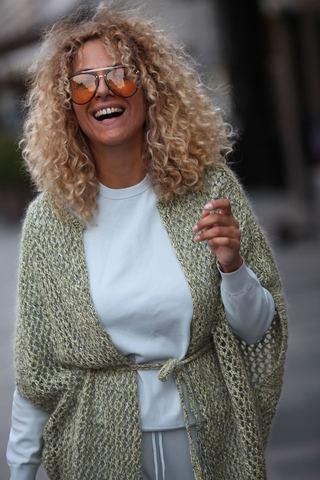 Набор пряжи для вязания жилета #knitfactory_сетка