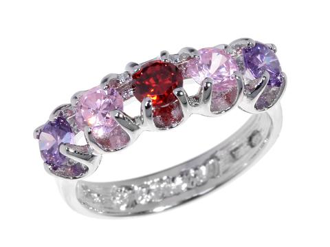 Кольцо с серебрением Стогн
