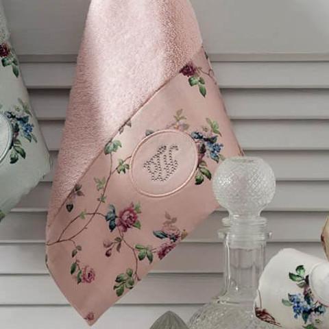 Набор салфеток Roseland lux розовый 3пр по 30х50 TIVOLYO HOME Турция