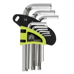 Набор шестигранных ключей A410/095, короткие