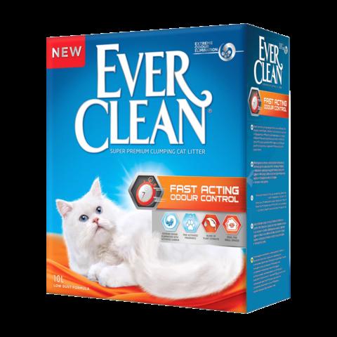 Ever Clean Fast Acting Наполнитель для туалета кошек Мгновенный контроль запахов комкующийся