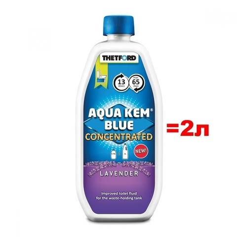 Жидкость для биотуалета Aqua Kem Blue Lavender Concentrated (Аква Кем Блю Лаванда концентрат)