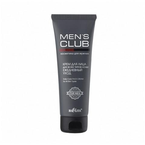 Крем для лица для всех типов кожи Ежедневный уход , 75 мл ( Men's Club )