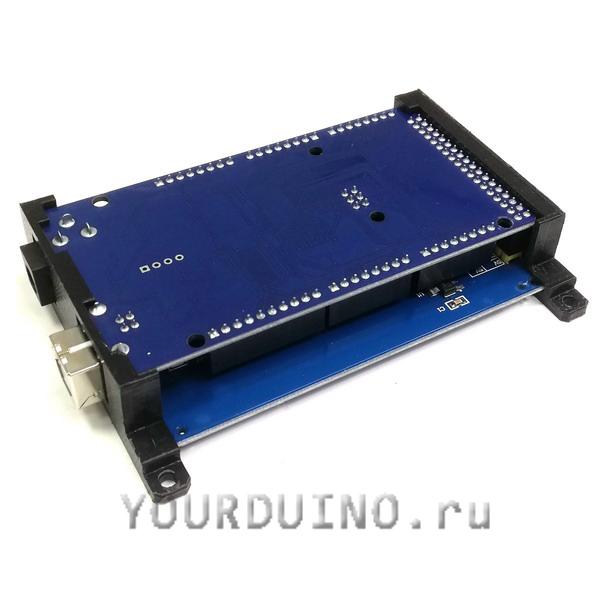 Держатель для Arduino Mega и дисплея 3.5